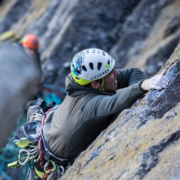 Robbie Phillips Elite Climber Sponsored by Steedman Tackles Eiger