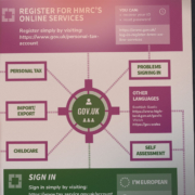 HMRC Login Infographic Steedman Edinburgh Accountants